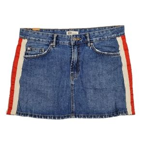 Zara Mid Rise | Mini Skirt Authentic Denim By TRF